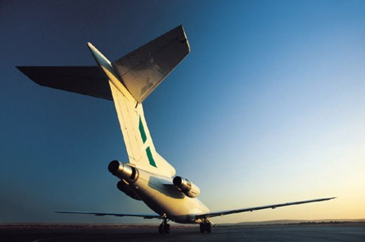 Stock Photo: 1527R-405008 Airplane on Tarmac