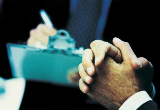 Stock Photo: 1527R-414041 Hands of a Businessman