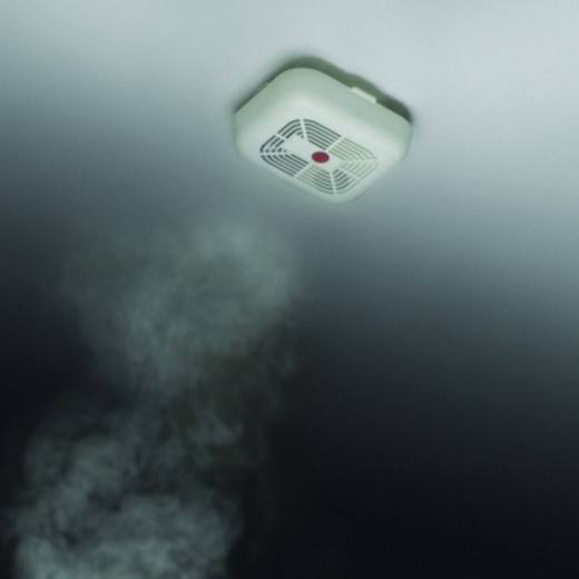 Stock Photo: 1527R-513040 Smoke Alarm