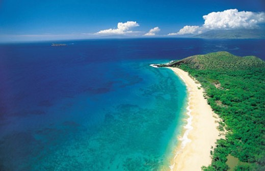 Makena State Park, Maui, Hawaiian Islands : Stock Photo