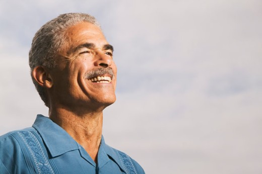 Portrait of a middle-aged man : Stock Photo