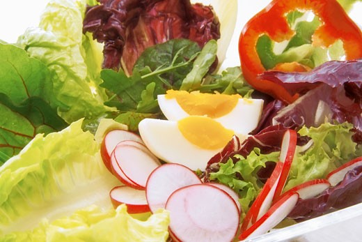 Healthy mixed salad : Stock Photo