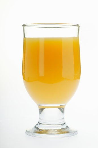 Stock Photo: 1532R-11128 Orange juice in glass