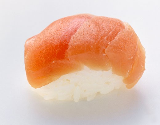 Stock Photo: 1532R-12866 One Nigiri Sushi