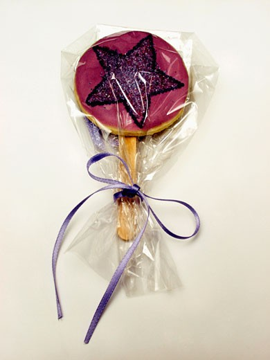 Stock Photo: 1532R-13696 Lollipop Cookie