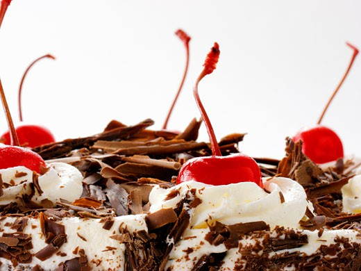 Black Forest Cake : Stock Photo