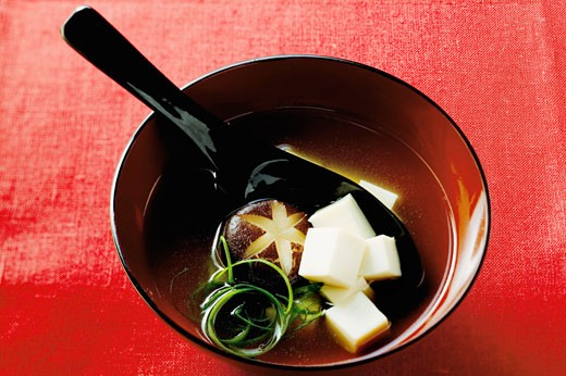 Miso soup : Stock Photo