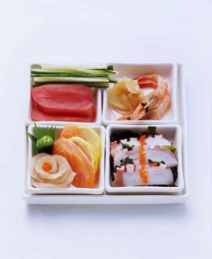 Stock Photo: 1532R-19602 Sashimi
