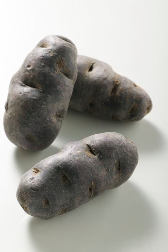Three truffle potatoes (France) : Stock Photo