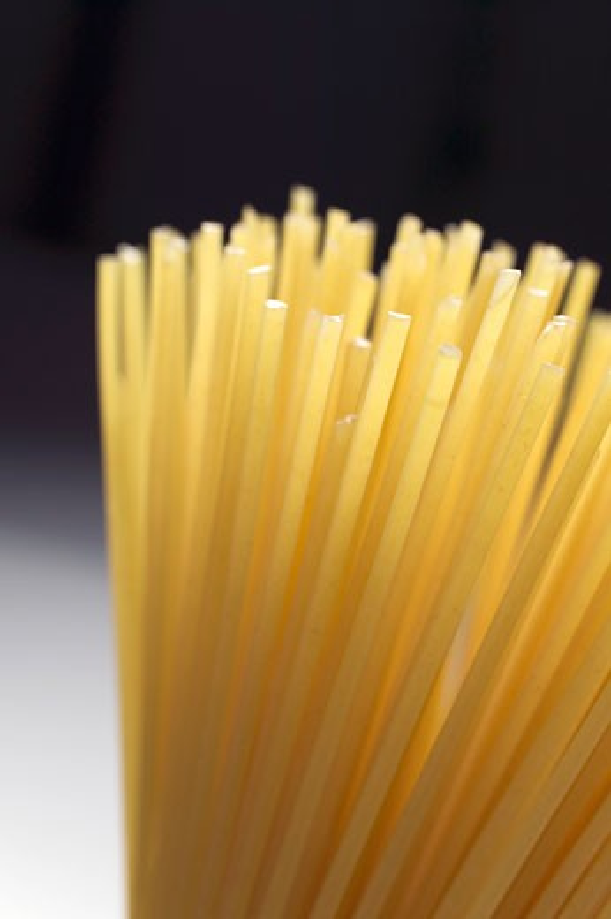 A bundle of spaghetti : Stock Photo