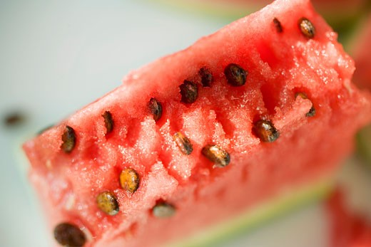 A piece of watermelon : Stock Photo