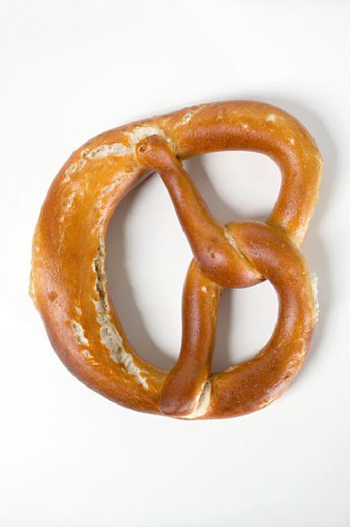 Stock Photo: 1532R-24857 Soft pretzel