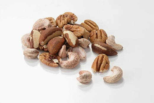 Stock Photo: 1532R-36645 Assorted nuts