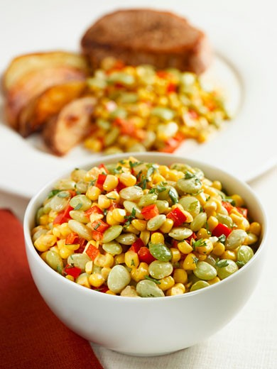 Stock Photo: 1532R-42464 Succotash