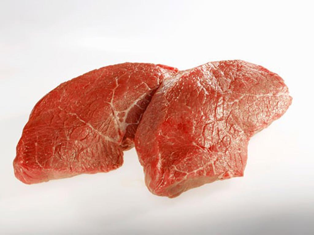 Beef steak (rump) : Stock Photo