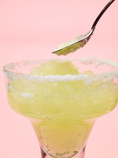 Stock Photo: 1532R-48896 Frozen Margarita