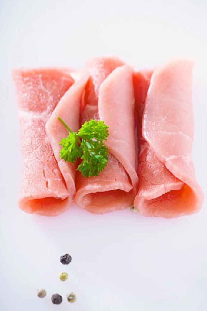 Pork roulades : Stock Photo