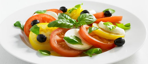 Insalata caprese : Stock Photo