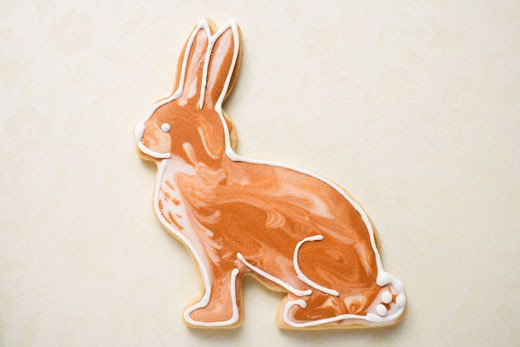 Stock Photo: 1532R-53303 Easter biscuit (Easter Bunny)