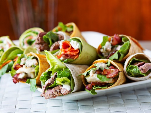 Various wraps : Stock Photo