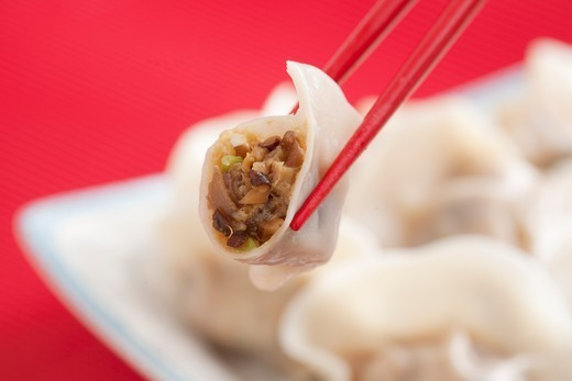Stock Photo: 1532R-65652 Dumplings