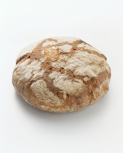 Stock Photo: 1532R-8264 Loaf of Crusty Bread