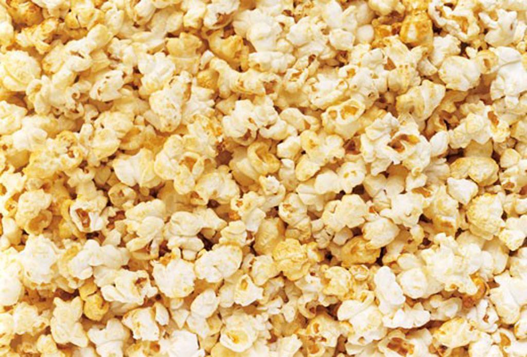 Popcorn (Full Frame) : Stock Photo