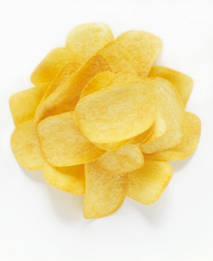 Stock Photo: 1532R-8306 Potato Chips