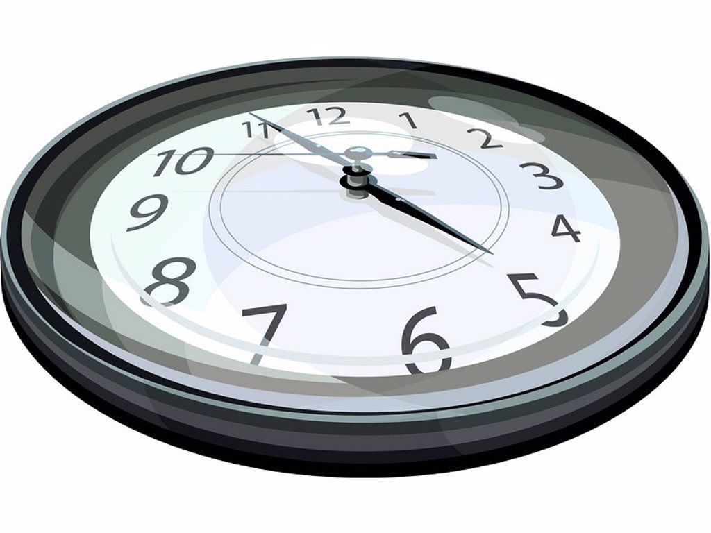 Illustration of a clock : Stock Photo
