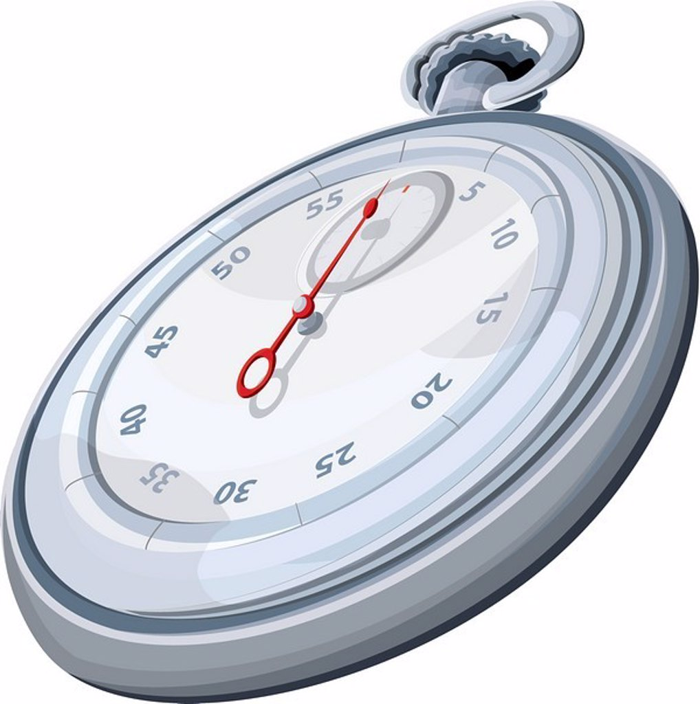 Stock Photo: 1538R-47692 Illustration of a timer