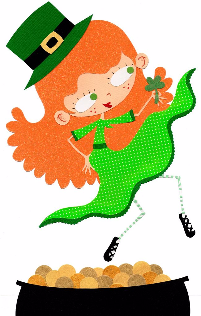 Stock Photo: 1538R-66516 St Patricks Day