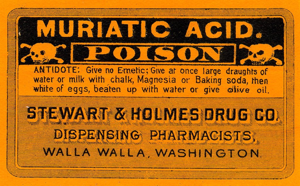 Stock Photo: 1538R-69135 vintage medicine label