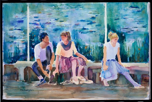 Stock Photo: 1543-107 Ballet Monet 