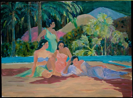 Sunday on the Beach 