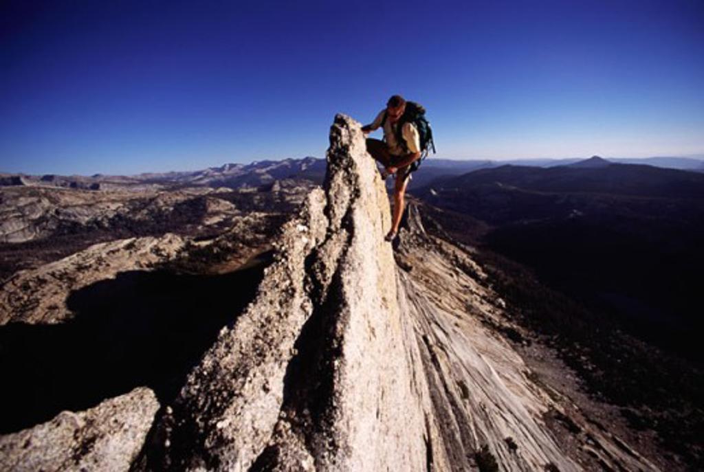 Mathis Crest Yosemite National Park California, USA : Stock Photo