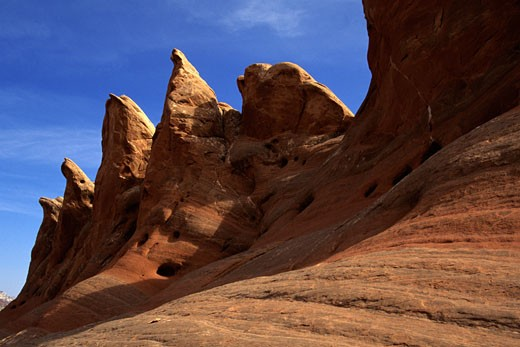 Stock Photo: 1546-693 Rock formations in a national park, Capitol Reef National Park, Utah, USA