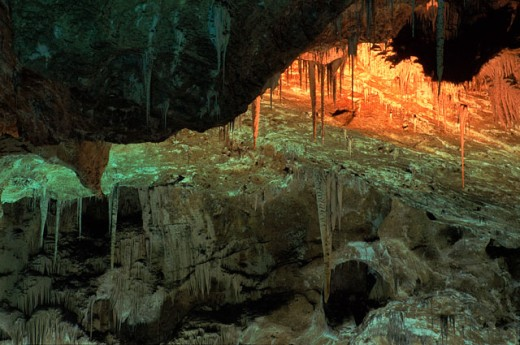 Stock Photo: 1555R-101091 Carlsbad Caverns National Park, New Mexico