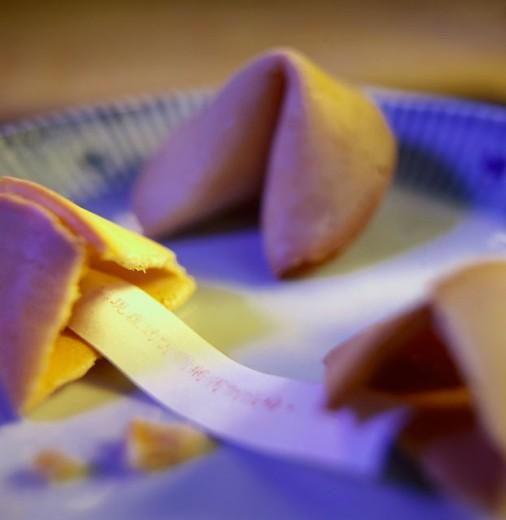 Fortune cookies : Stock Photo
