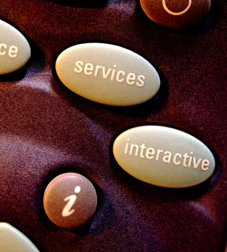 Buttons on remote control : Stock Photo