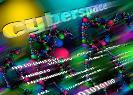Cyberspace : Stock Photo