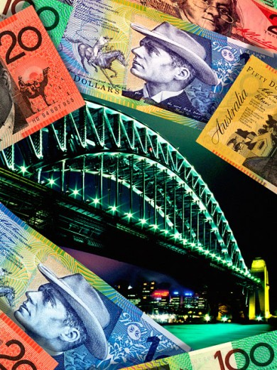 Australian currency : Stock Photo
