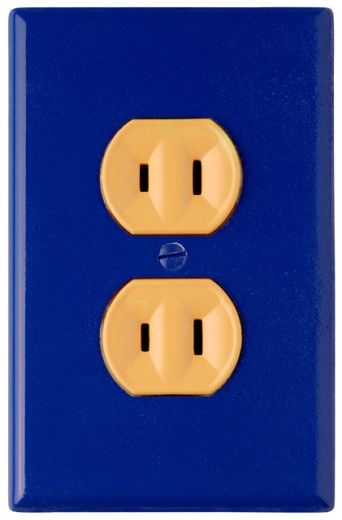 Electrical outlet : Stock Photo