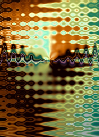 Stock Photo: 1555R-141023 Abstract pattern