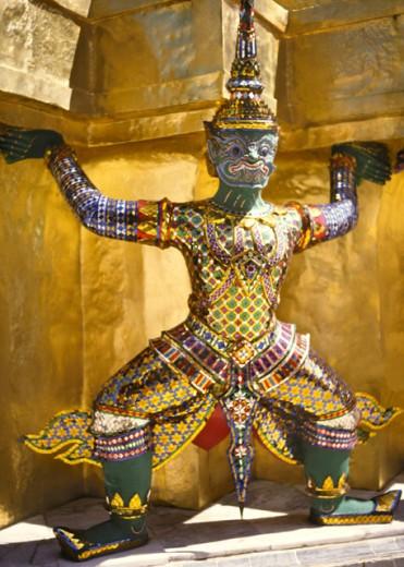 Stock Photo: 1555R-143023 Wat Phra Keo, Bangkok