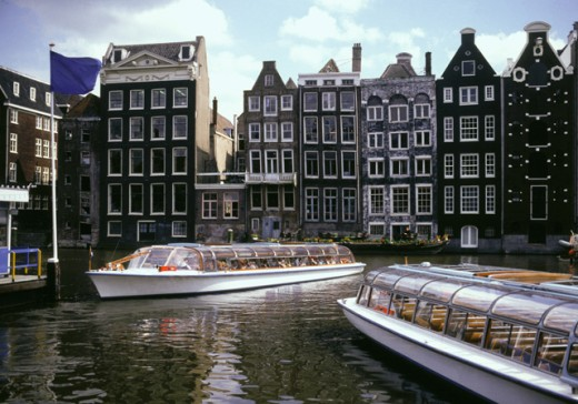 Amsterdam, The Netherlands : Stock Photo