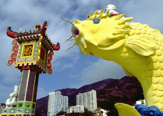 Repulse Bay in Hong Kong : Stock Photo