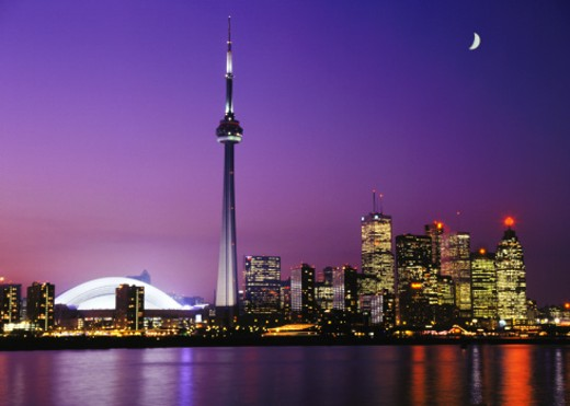 Toronto, Canada skyline : Stock Photo