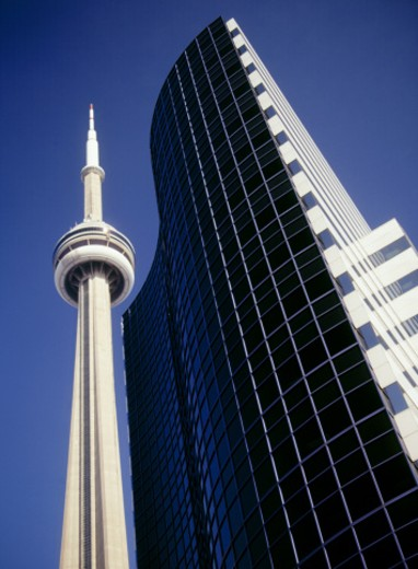 CN Tower, Toronto, Canada : Stock Photo