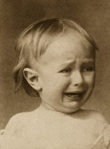 Stock Photo: 1555R-155052 Crying boy