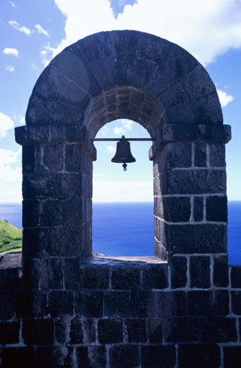 Brimstone Hill, St. Kitts : Stock Photo